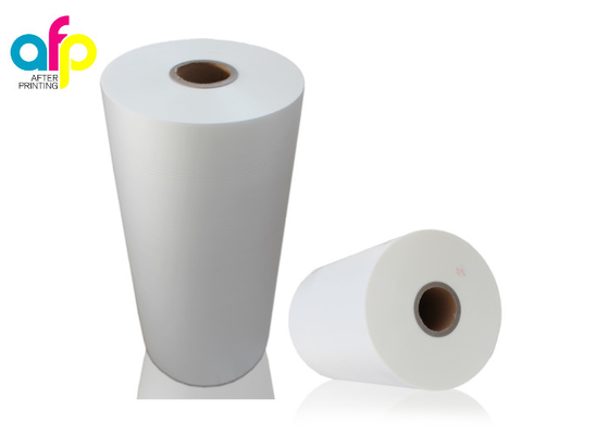 Hot Stamp-able Scratch Resistant Matte Laminate Film for Printing Paper and Cardboard